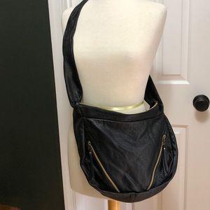 Vans Black Faux Leather Bag
